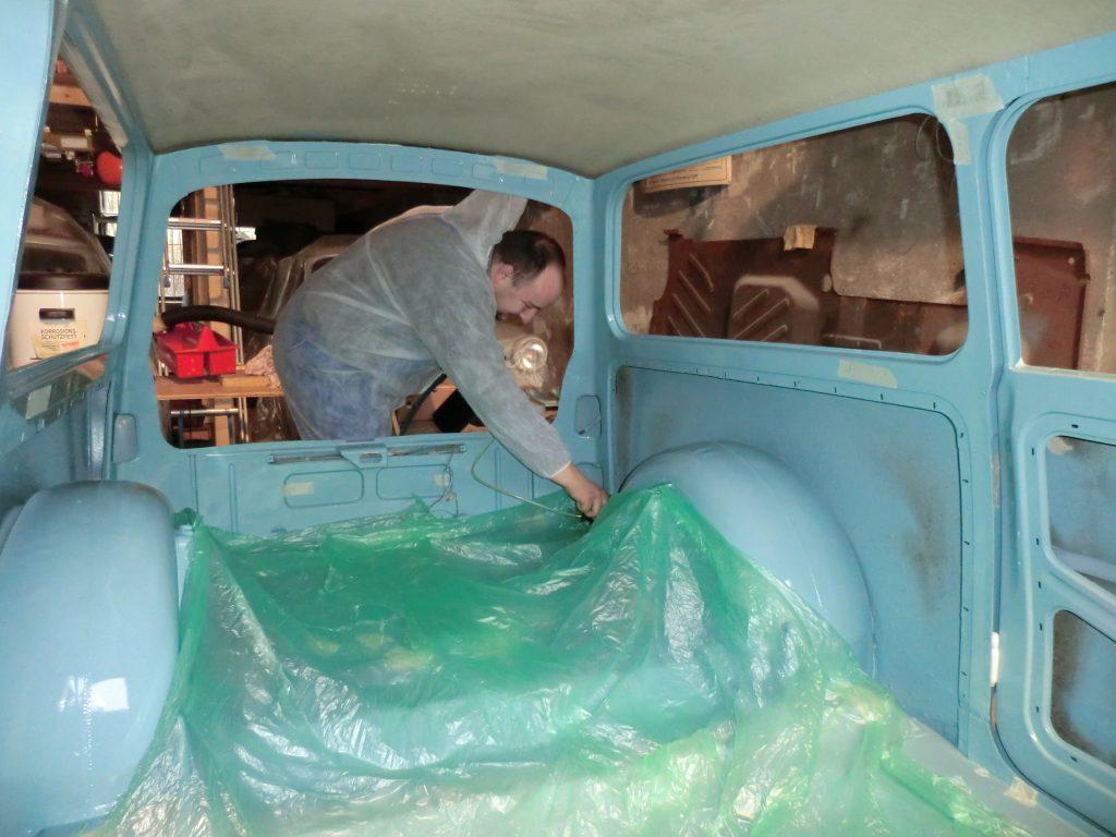 Hohlraumkonservierung Trabant 601 Kombi